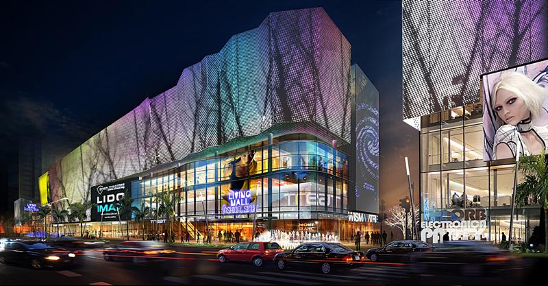 场馆的照明设计,室内艺术照明及广告牌灯光效果设计